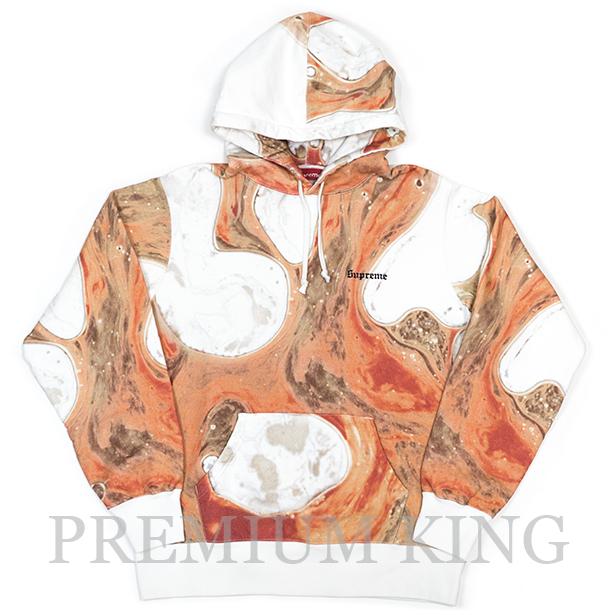 国内正規品 2017AW Supreme Andres Serrano Blood and Semen Hooded Sweatshirt White 新品未使用品 [ シュプリーム アンドレス・セラーノ フーディー パーカー ホワイト]