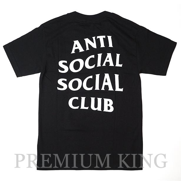 <即日発送>正規品 2017AW Anti Social Social Club Logo Tee 2 Black 新品未使用品 [ アンチ ソーシャル ソーシャル クラブ ロゴ Tシャツ ブラック 黒 ]