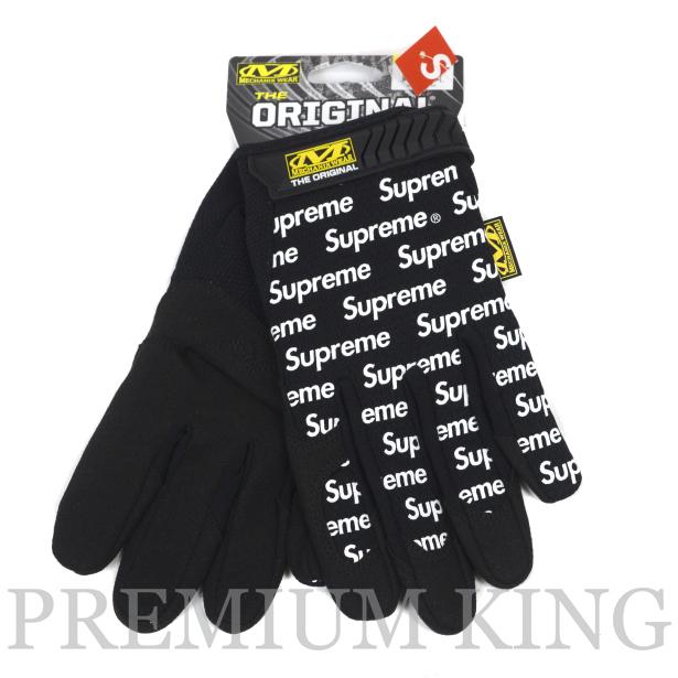 国内正規品 2017SS Supreme Mechanix Original Work Gloves Black 新品未使用品 [ シュプリーム メカニックス オリジナル ワーク グローブ ブラック 黒 ]