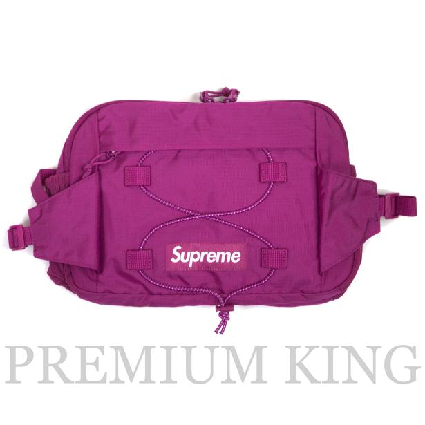 正規品 2017SS Supreme 210D Cordura ripstop nylon 5L Waist Bag Pink 新品未使用品 [ シュプリーム コーデュラ リップストップ ナイロン ウェストバック ピンク]