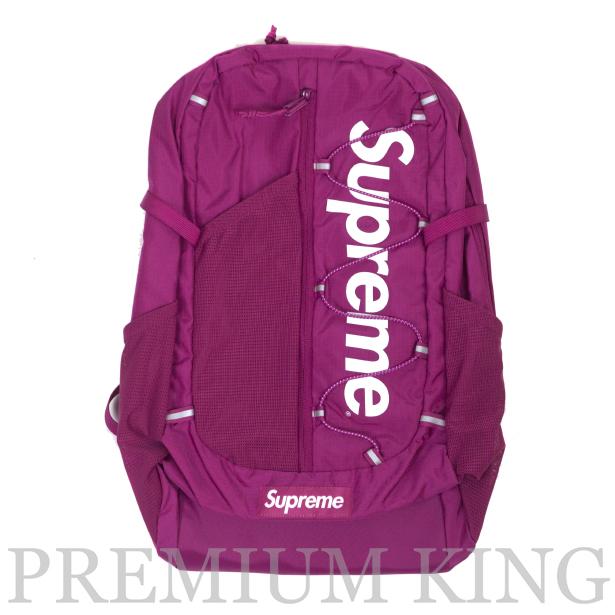 国内正規品 2017SS Supreme 210D Cordura ripstop nylon 20L Backpack Pink 新品未使用品 [ シュプリーム コーデュラ リップストップ ナイロン バックパック ピンク ]