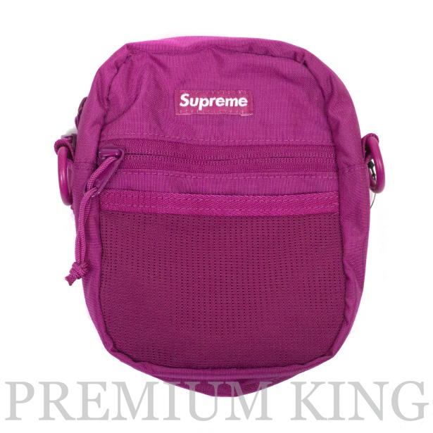 正規品 2017SS Supreme 210D Cordura ripstop nylon Small Shoulder Bag Pink 新品未使用品 [ シュプリーム コーデュラ リップストップ ナイロン スモール ショルダー バッグ ピンク ]