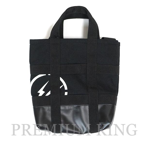 国内正規品 2017AW SACAI × FRAGMENT DESIGN TOTE BAG (SMALL) BLACK 新品未使用品 [ サカイ フラグメント デザイン  トートバッグ (小) ブラック 黒 ]