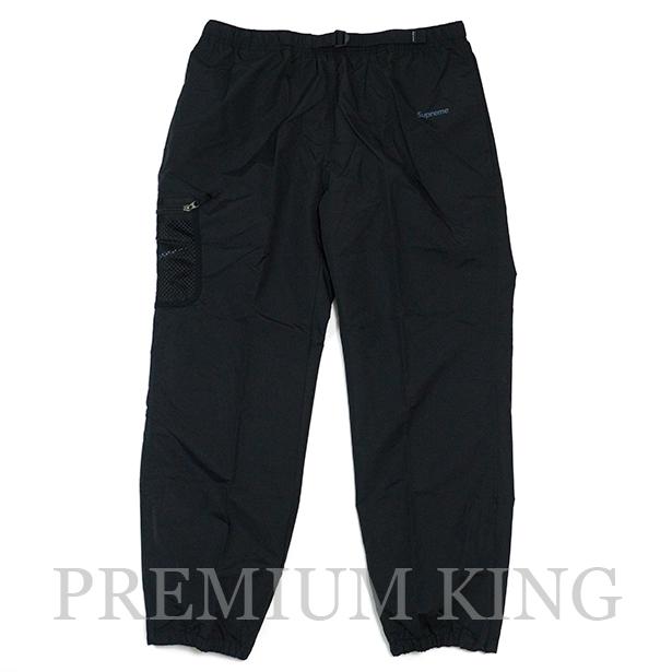 国内正規品 2017AW Supreme × Nike Trail Running Pant Black 新品未使用品 [ シュプリーム ナイキ トレイル ランニング パンツ ブラック 黒 ]