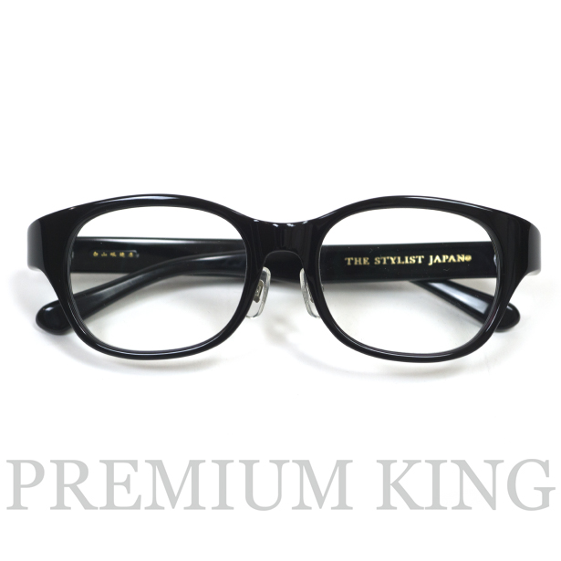 The Stylist Japan × HAKUSAN TSJ-WINSTON glasses Black Clear 新品未使用品 [ スタイリスト ジャパン × 白山眼鏡店 ウィンストン 伊達 メガネ ブラック クリアー ]