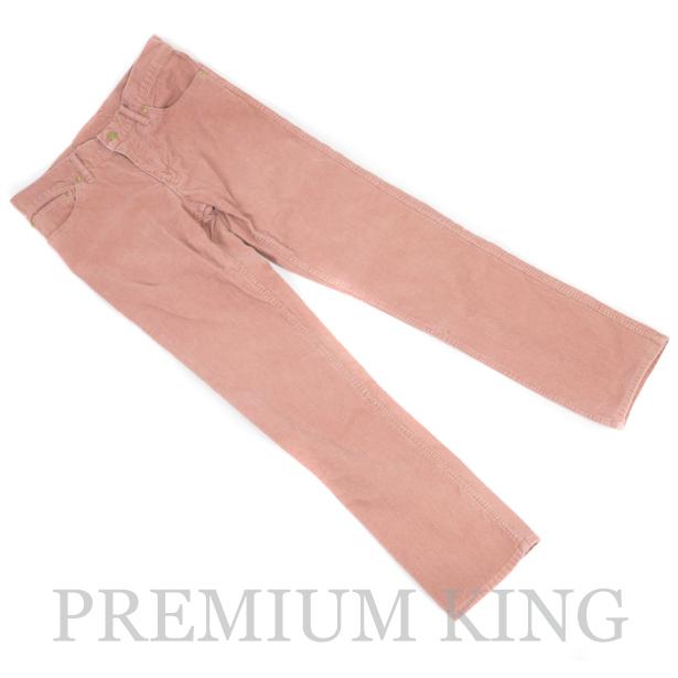 国内正規品 2012AW visvim FLUXUS 03 CORDS Corduroy Pants Pink 美中古品 〔 ビズビム フラックス コーデュロイ パンツ ピンク 〕