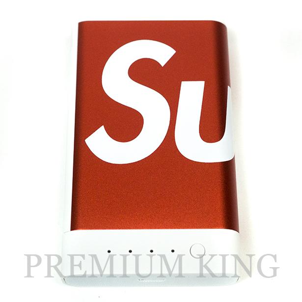 国内正規品 2017AW Supreme × Mophie Encore Plus 10k Red 新品未使用品 [ シュプリーム モーフィー アンコール プラス モバイル バッテリー 充電器 レッド 赤 ]