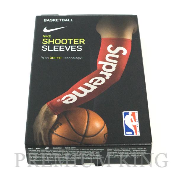 国内正規品 2017AW Supreme × Nike NBA Shooting Sleeve Red 新品未使用品 [ シュプリーム ナイキ シューティング スリーブ レッド 赤 ]