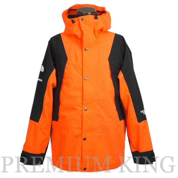海外正規品 2016FW SUPREME × THE NORTH FACE Mountain Light Jacket Orange 新品未使用品 [ シュプリーム ノースフェイス マウンテン ライト ジャケット  オレンジ ]