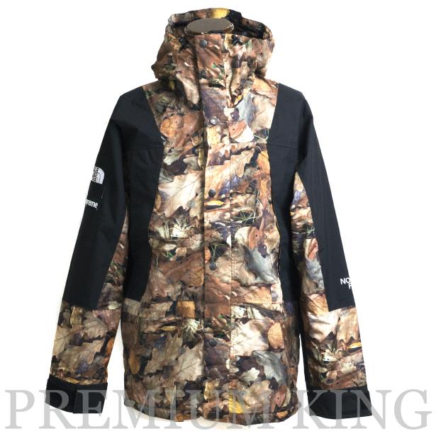 海外正規品 2016FW SUPREME × THE NORTH FACE Mountain Light Jacket leaf hunting camouflage 新品未使用品 [ シュプリーム ノースフェイス マウンテン ライト ジャケット  リーフハンティング カモフラージュ ]