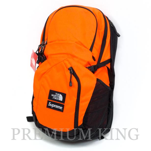 国内正規品 2016FW SUPREME × THE NORTH FACE Pocono Backpack Orange 未使用品 [ シュプリーム ノースフェイス ポコノ  バックパック オレンジ ]