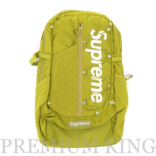 正規品 2017SS Supreme 210D Cordura ripstop nylon 20L Backpack Acid Green 新品未使用品 [ シュプリーム コーデュラ リップストップ ナイロン バックパック アシッド グリーン イエロー ]