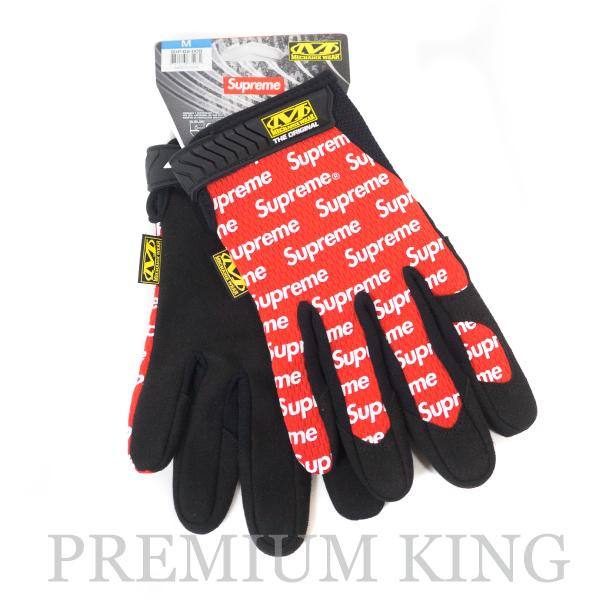 正規品 2017SS Supreme Mechanix Original Work Gloves Red 新品未使用品 [ シュプリーム メカニックス オリジナル ワーク グローブ レッド 赤 ]