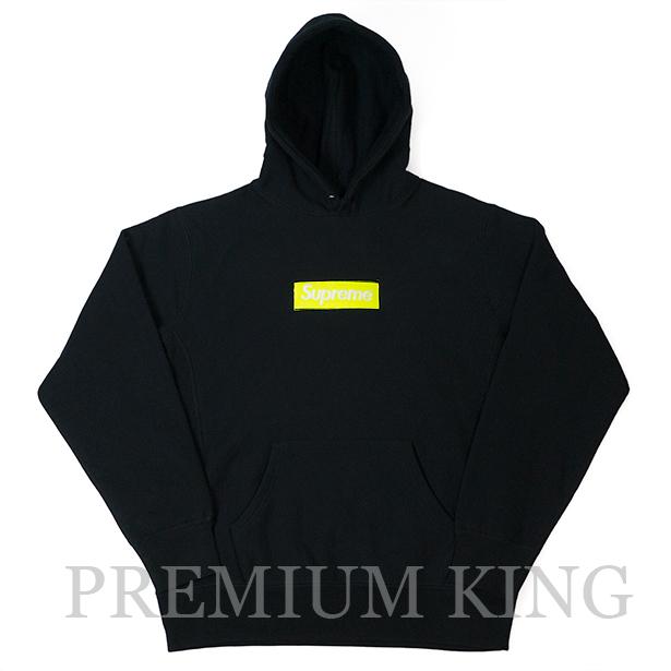 国内正規品 2017AW Supreme Box Logo Hooded Sweatshirt Black 新品未使用品 [ シュプリーム ボックス ロゴ フーディ パーカー ブラック]