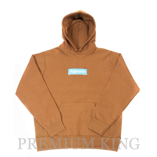 国内正規品 2017AW Supreme Box Logo Hooded Sweatshirt Rust 新品未使用品 [ シュプリーム ボックス ロゴ フーディ パーカー Brown ブラウン ]