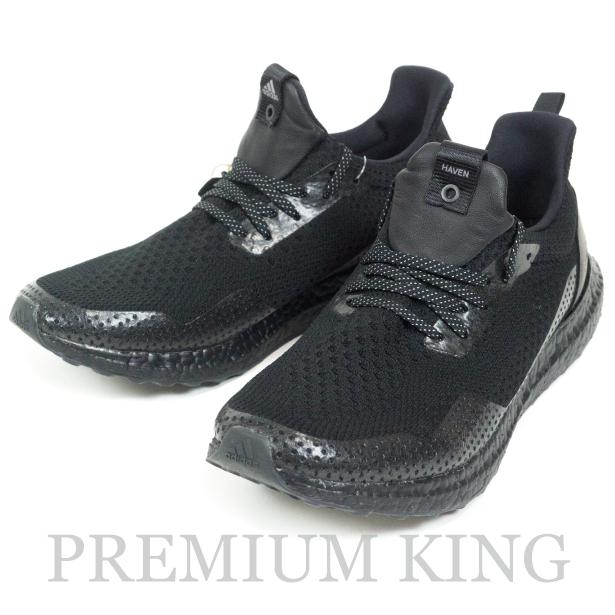 """国内正規品 HEAVEN × adidas Consortium Ultra Boost Uncaged """" Triple Black """" BY2638 Core Black 新品未使用品 [ ヘブン アディダス ウルトラブースト アンケージド トリプルブラック コアブラック 黒 ]"""