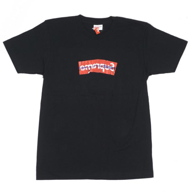 国内正規品 2017SS Supreme × COMME des GARCONS SHIRT Box Logo Tee Black 新品未使用品  [ シュプリーム コムデギャルソン ボックス ロゴ Tシャツ ブラック 黒 ]
