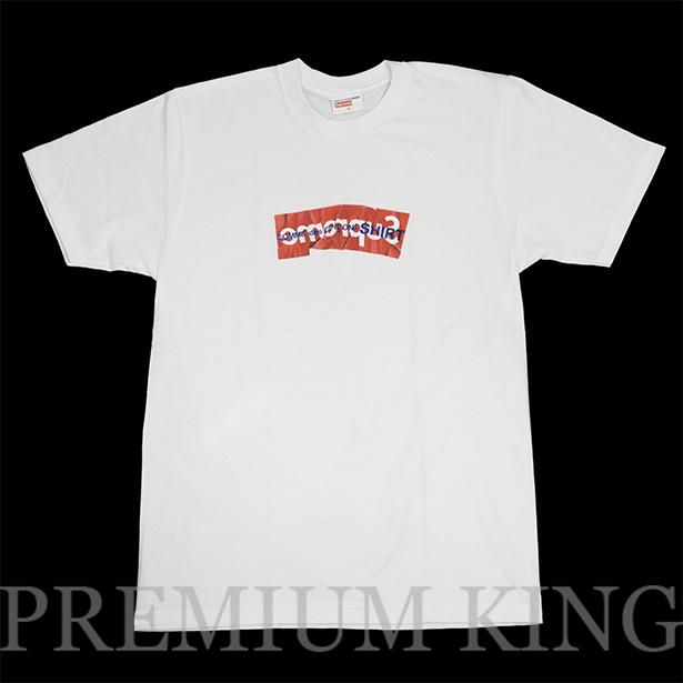 国内正規品 2017SS Supreme × COMME des GARCONS SHIRT Box Logo Tee White 新品未使用品  [ シュプリーム コムデギャルソン ボックス ロゴ Tシャツ ホワイト ]