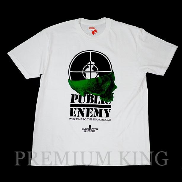国内正規品 2018SS Supreme/Undercover/Public Enemy Public Terrordome Enemy Tee White 新品未使用品 [ シュプリーム アンダーカバー パブリックエネミー テラードーム Tシャツ ホワイト 白 ]