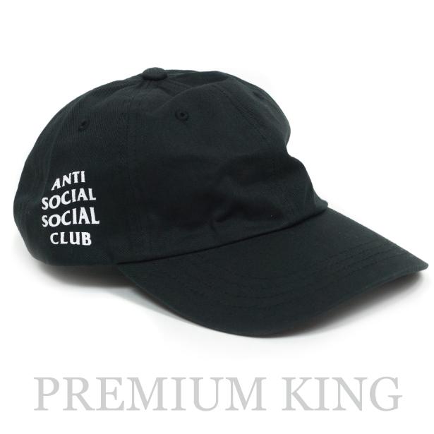 2018 Anti Social Social Club WEIRD CAP Black 新品未使用品 [ アンチ ソーシャル ソーシャル クラブ ウィアード キャップ ブラック 黒 ]