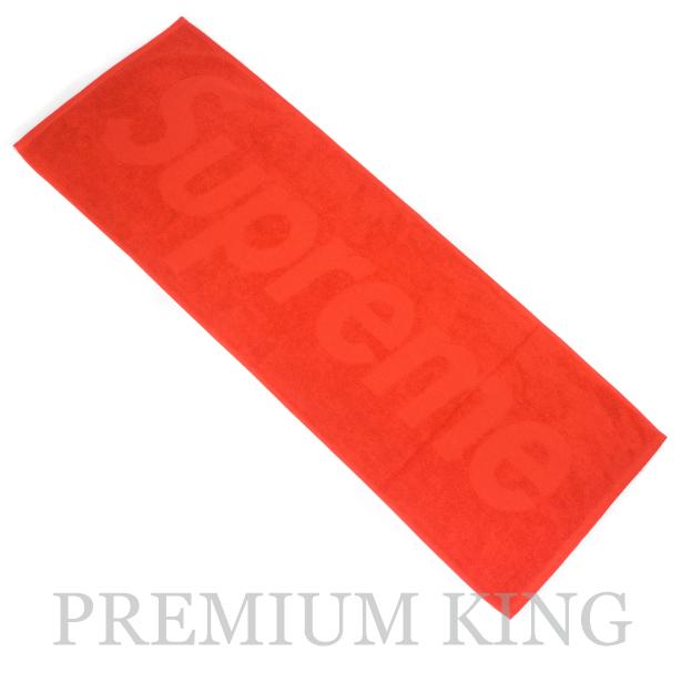 国内正規品 2017SS Supreme Terry Logo Hand Towel Red 新品未使用品 [ シュプリーム テリー ロゴ ハンド タオル レッド 赤 ]