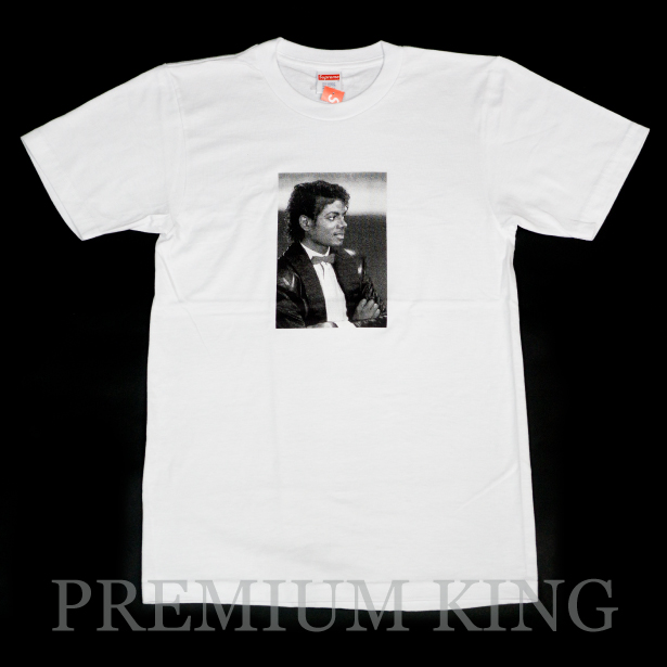 国内正規品 2017SS Supreme × Michael Jackson Tee White 新品未使用品 [ シュプリーム マイケル ジャクソン Tシャツ ホワイト 白 ]