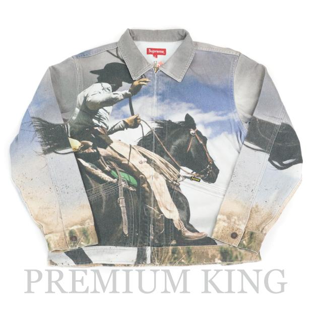 国内正規品 2017SS Supreme Cowboy Denim Work Jacket Multi 新品未使用品  [ シュプリーム カウボーイ デニム ワーク ジャケット マルチ ]