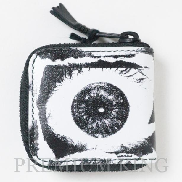 国内正規品 2017SS Supreme × COMME des GARCONS SHIRT Eyes Coin Pouch White 新品未使用品  [ シュプリーム コムデギャルソン アイズ コイン ポーチ ホワイト 白 ]