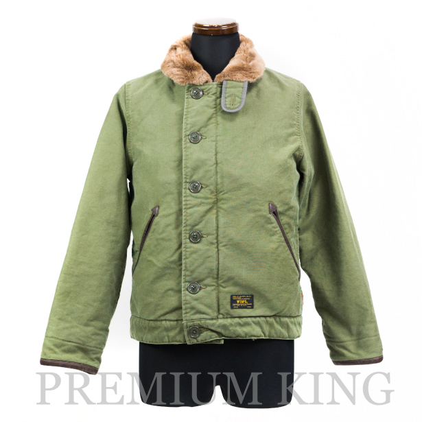 THE PARK ING GINZA 限定 WTAPS 別注 N-1/JACKET Olive 新品未使用品 [ ザ・パーキング銀座 ダブルタップス エヌワン ジャケット オリーブ 緑 ]