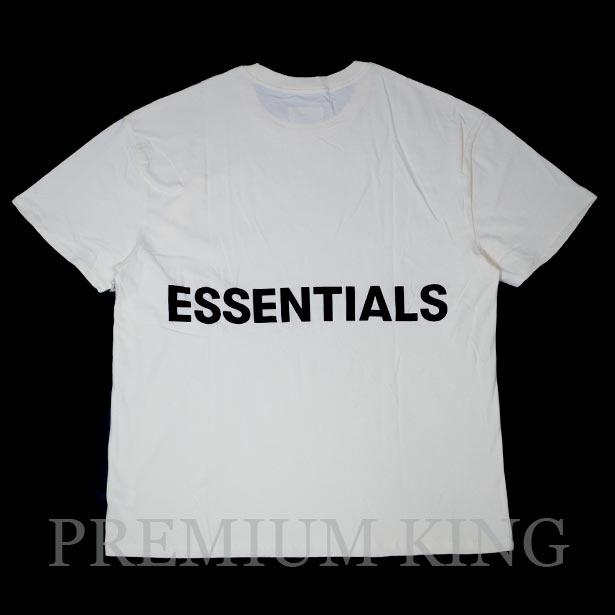 国内正規品 FOG Fear Of God Essentials Boxy Graphic T-Shirt CREAM 新品未使用品 [ フィアオブゴッド エッセンシャルズ Tシャツ クリーム ]