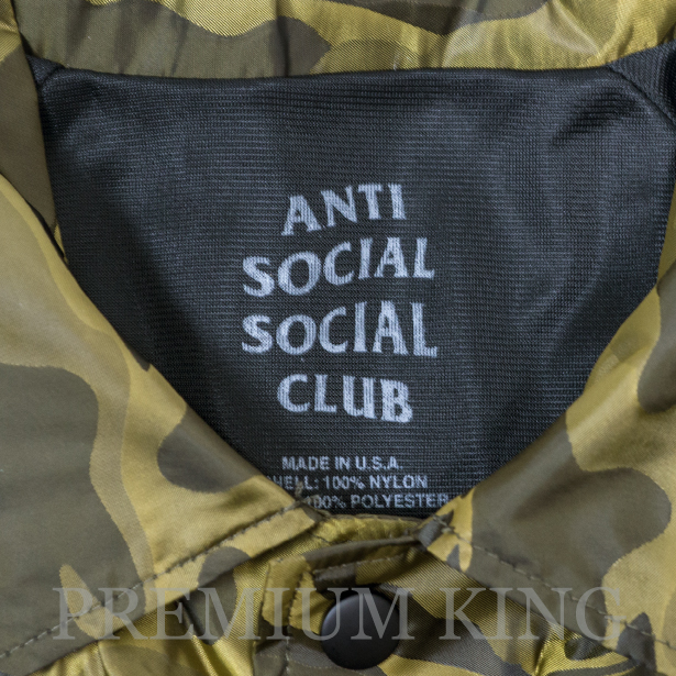 3ebdd9b68e46 即日発送 2017 Anti Social Social Club Take A Right 3D Coach Jacket 新品未使用品