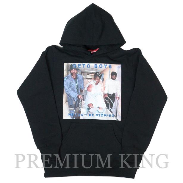 正規品 2017SS Supreme Rap-A-Lot Records Geto Boys Hooded Sweatshirt Black 新品未使用品 [ シュプリーム ラップ ア ロット レコーズ ゲトー ボーイズ フーディー パーカー ブラック 黒 ]