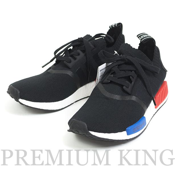 国内正規品 ADIDAS Originals NMD RNR RUNNER PK R1 S79168 Black 新品未使用 [ アディダス オリジナルス エヌエムディー ランナー プライムニット  ブラック トリコロール ]