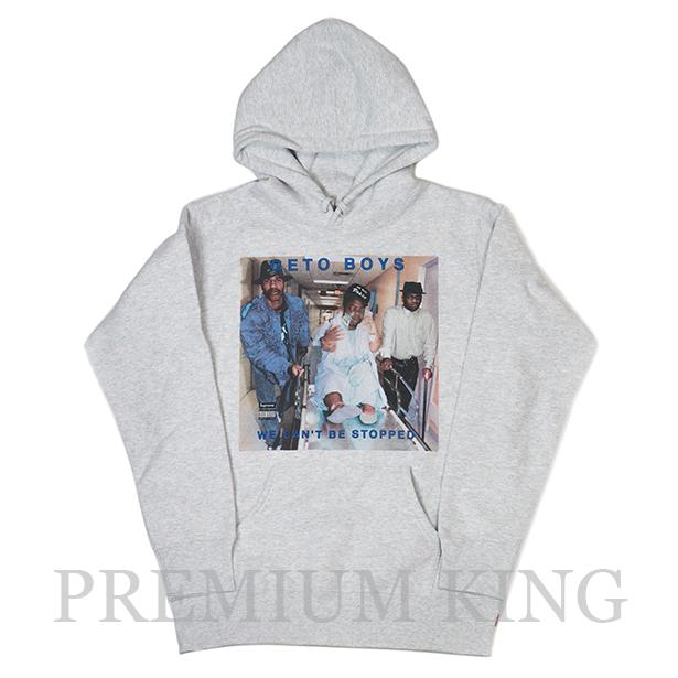 正規品 2017SS Supreme Rap-A-Lot Records Geto Boys Hooded Sweatshirt Grey 新品未使用品 [ シュプリーム ラップ ア ロット レコーズ ゲトー ボーイズ フーディー パーカー グレー 灰 ]