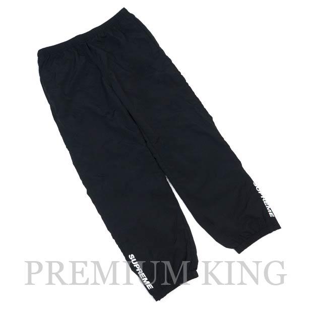 国内正規品 2018SS Supreme Warm Up Pant Black 新品未使用品 [シュプリーム ウォーム アップ パンツ ブラック]