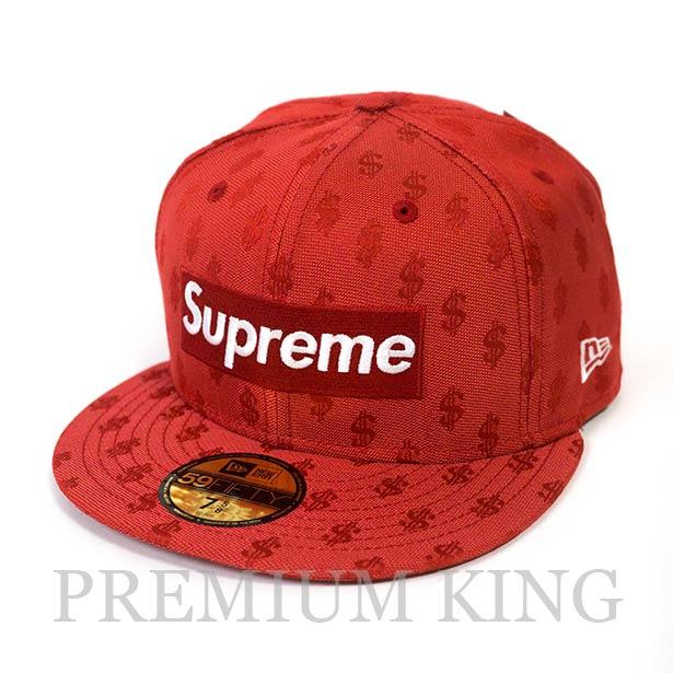 正規品 2018SS Supreme Monogram Box Logo New Era Red 新品未使用品 [ シュプリーム モノグラム ボックス ロゴ ニューエラ レッド 赤 ]