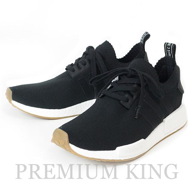 """国内正規品 adidas NMD R1 PK """"GUM PACK"""" """"LIMITED EDITION"""" Black 新品未使用品 [ アディダス ノマドR1プライムニット ガムパック リミテッドエディション ブラック 黒 BY1887 ]"""