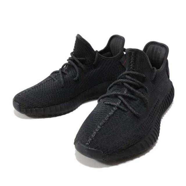 国内正規品 adidas Originals by KANYE WEST YEEZY BOOST 350 V2 Black/Black-Black FU9006 新品未使用品 [ アディダス オリジナル カニエ ウェスト イージー ブースト ブラック 黒 ]