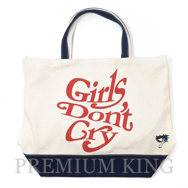 国内正規品 2018SS Girls Don't Cry × UNDERCOVER Tote Bag Ivory 新品未使用品 [ ガールズ ドント クライ アンダーカバー トートバッグ アイボリー 白 ]
