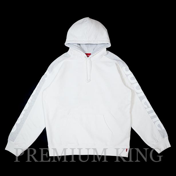 国内正規品 2018SS Supreme Sideline Hooded Sweatshirt White 新品未使用品 [ シュプリーム サイドライン フーディー パーカー ホワイト 白 ]