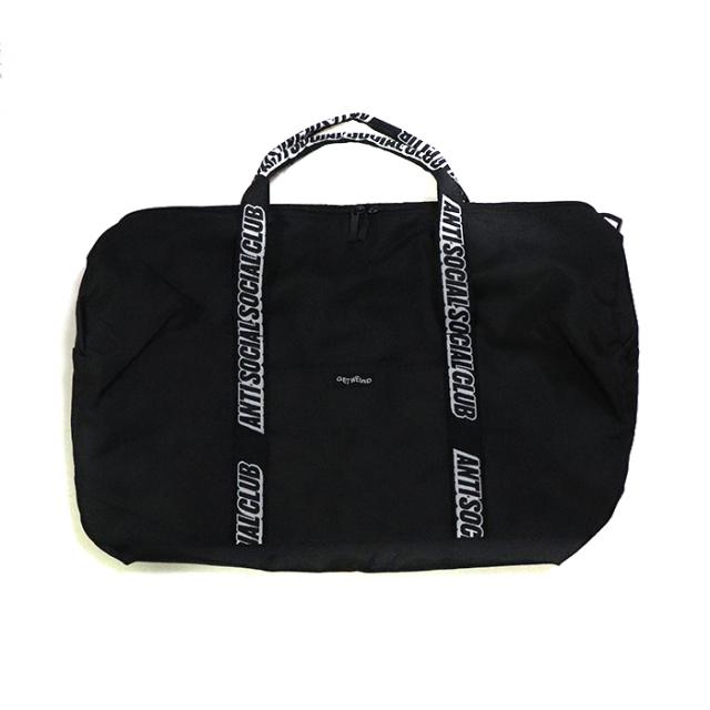 正規品 2018AW  ANTI SOCIAL SOCIAL CLUB DUFFLE BAG BLACK 新品未使用品 [ アンチ ソーシャル ソーシャル クラブ ダッフル バッグ ブラック 黒 ]