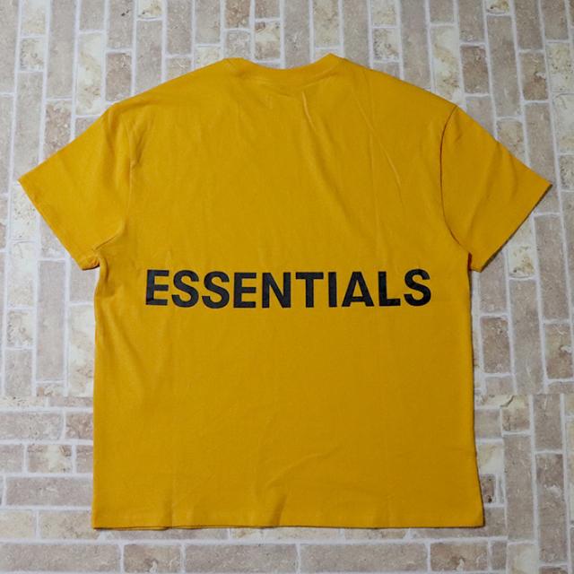 国内正規品 FOG Fear Of God Essentials Boxy Graphic T-Shirt Yellow 新品未使用品 [ フィアオブゴッド エッセンシャルズ Tシャツ イエロー 黄 ]