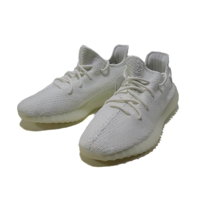 正規品 adidas Originals by KANYE WEST Yeezy Boost 350 V2 CREAM WHITE/CREAM WHITE CP9366 新品未使用品 [ アディダス オリジナル カニエ ウェスト イージー ブースト クリーム ホワイト 白 ]