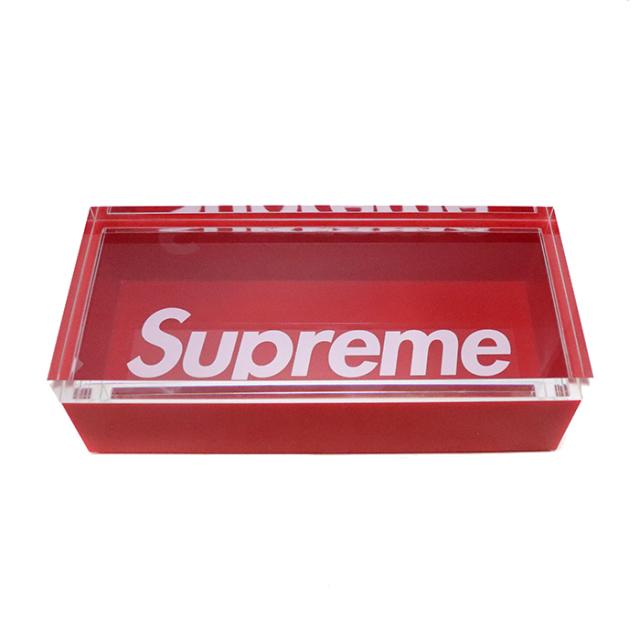 正規品 2016AW Supreme Lucite Box Red 新品未使用品 [ シュプリーム ルーサイト ボックス アクリル レッド 赤  ]