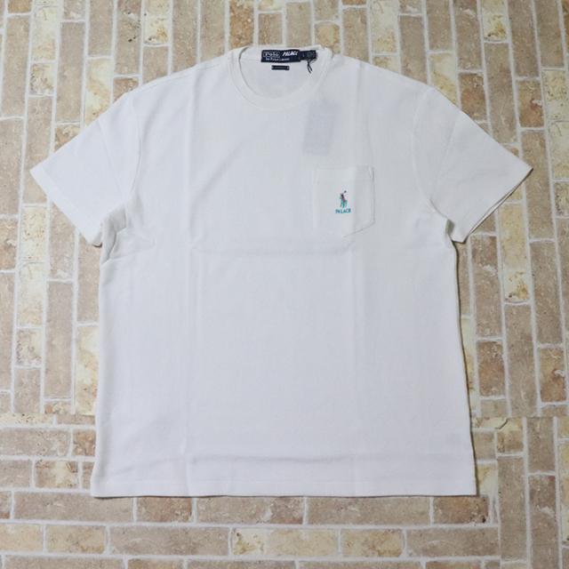 正規品 2018AW PALACE × POLO RALPH LAUREN POCKET T-SHIRT WHITE 新品未使用品 [ パレス ポロ ラルフローレン ポケット Tシャツ ホワイト 白 ]