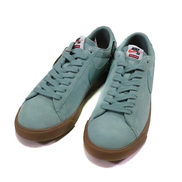 国内正規品 2016AW Supreme × Nike SB Blazer Low Teal 716890-009 新品未使用品 [ シュプリーム ナイキ ブレザー ロウ ティール ]