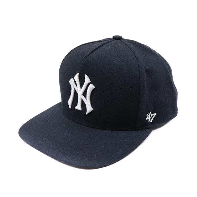 正規品 2015SS New York Yankees × Supreme × 47 Brand 5-Panel Snapback Cap Navy 新品未使用品 [ シュプリーム ニューヨーク ヤンキース シュプリーム 47ブランド スナップバック キャップ ネイビー 紺 ]