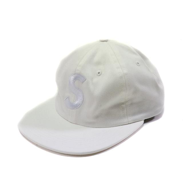 正規品 2017SS Supreme Washed Denim S Logo 6 Panel Cap White 新品未使用品 [ シュプリーム ウォッシュド デニム Sロゴ ホワイト 白 ]