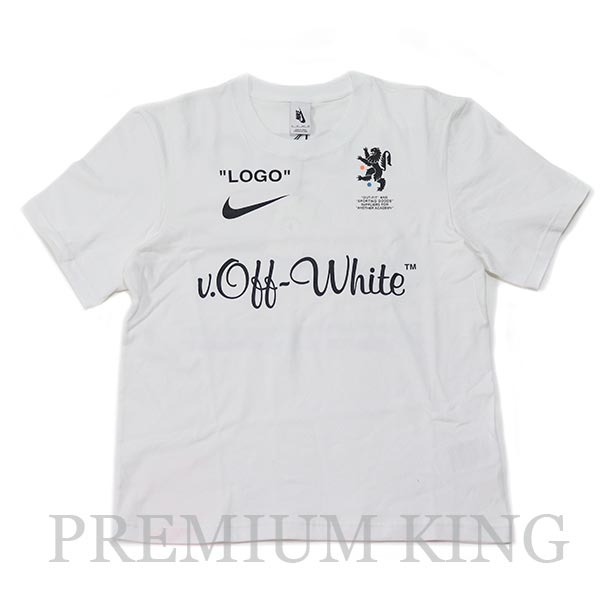 正規品 2018SS OFF-WHITE × NIKE T-Shirt White 新品同様品 [ オフホワイト ナイキ Tシャツ 白 ]