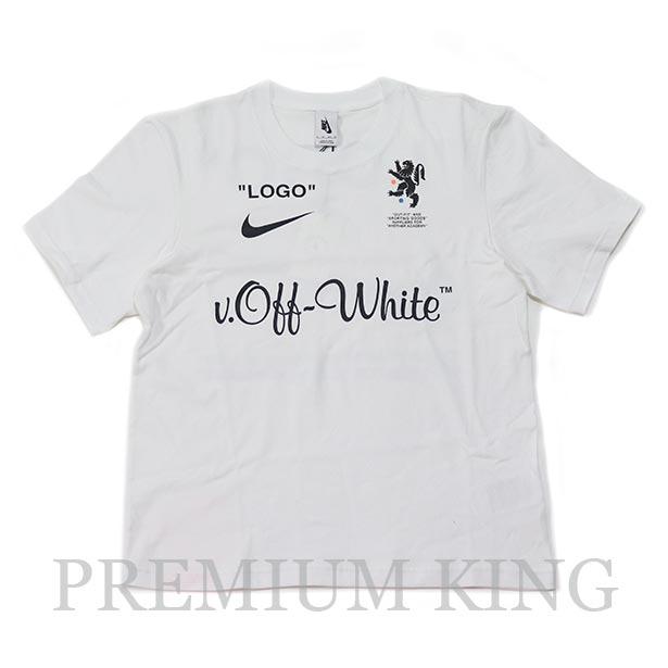 国内正規品 2018SS OFF-WHITE × NIKE T-Shirt White 新品未使用品 [ オフホワイト ナイキ Tシャツ 白 ]
